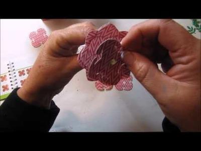 Cricut Explore Project - 3D Floral Home Decor Cricut Cartridge