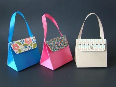 Gift Bag Punch Board Purse