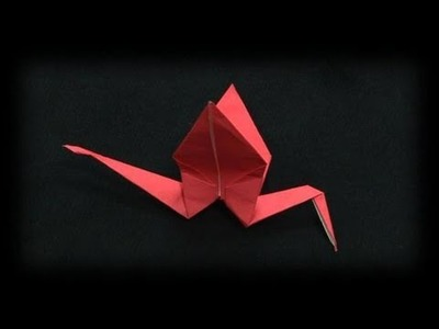 How To Fold The Origami Crane