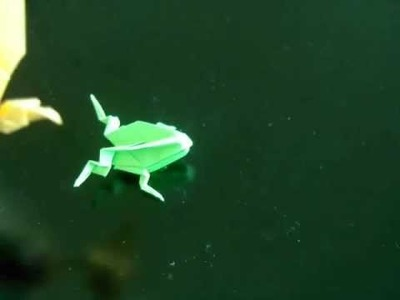 How to make a Classic Origami Frog