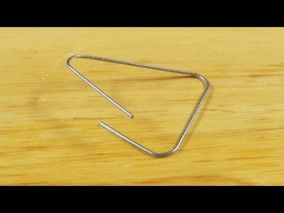 How to make a Jumping Paperclip