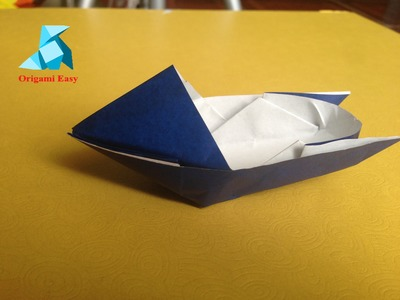 How To Make Origami Boat Easy For Beginners