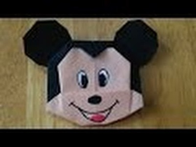 How To Make Origami | Mickey Mouse