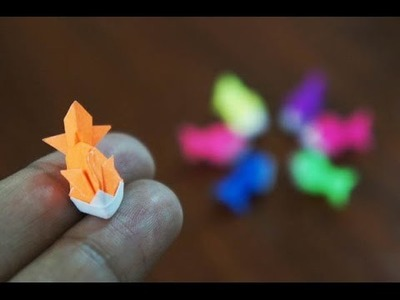 Mini Origami - How to make Mini Goldfish Origami