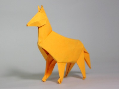 Origami Dog tutorial (Henry Phạm)