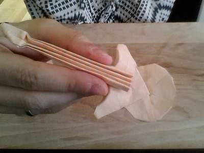 Origami Guitar Instructions