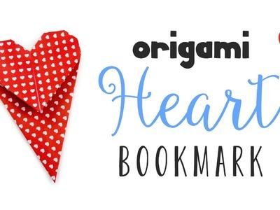 Origami Heart Bookmark Instructions ♥