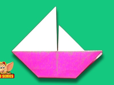 Origami - How to make a different Sail Boat