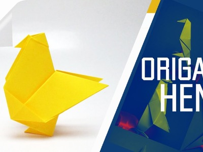 Origami - How To Make An Origami Hen