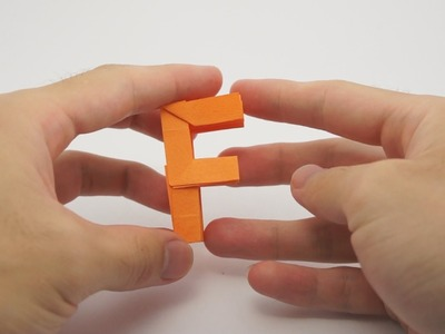Origami Letter 'F'