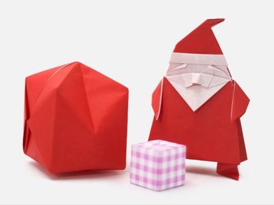 Origami Santa Claus Jo Nakashima Camila Zeymer