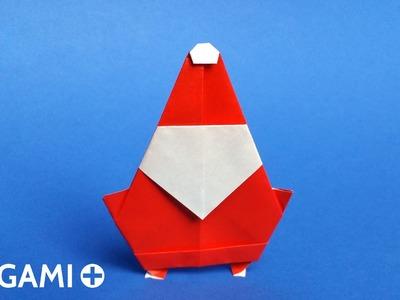 Origami Santa Claus - Père Noël, Papá Noel, Papai Noel, Pai Natal, Babbo Natale, Weihnachtsmann