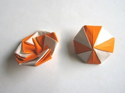 """Origami """"Spinning Top"""" by Manpei Arai (Part 1 of 2)"""