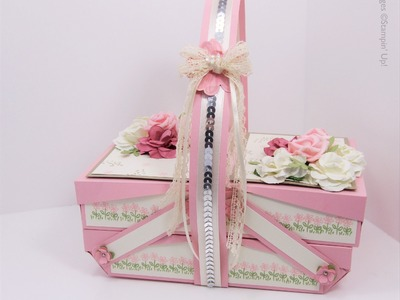 Pretty in Pink Cantilever Picnic Box Tutorial - part 2 of 2