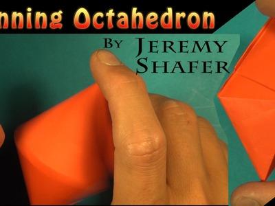 Spinning Octahedron by Jeremy Shafer