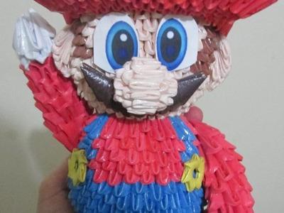 Super Mario  - Origami 3D
