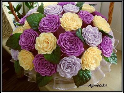 TWISTED ROSE PAPER FLOWER (slow version) - Hoa hồng xoắn giấy
