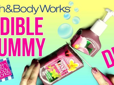 DIY EDIBLE Gummy Bath & Body Works Soap! DIY Jelly Soap Bottle!