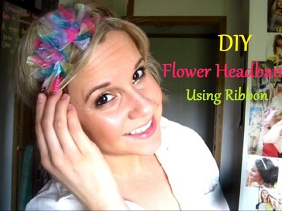 DIY Flower Headband(Using Ribbon)