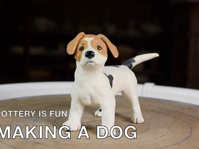 How to Make a Dog - Making Animals Out of Clay - Pottery is Fun