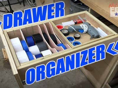 Ⓕ How To Make A Drawer Organizer (ep62)