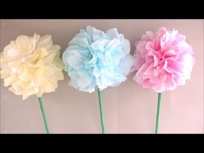 How to make a hydrangea flower