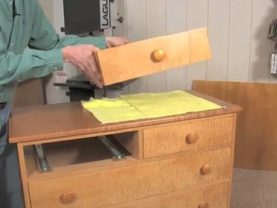 Installing Under-Mount Drawer Slides