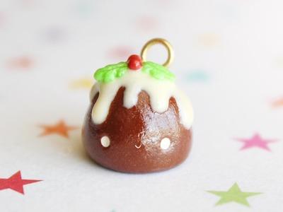 Kawaii Christmas Pudding │ Polymer Clay Tutorial