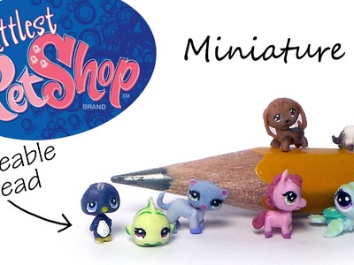 Littlest Pet Shop Inspired Polymer Clay Tutorial (W. Poseable Head)