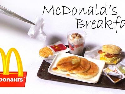 McDonald's Inspired Breakfast Miniatures - Polymer Clay Tutorial