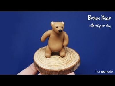 Miniature Bear Tutorial with Polymer Clay