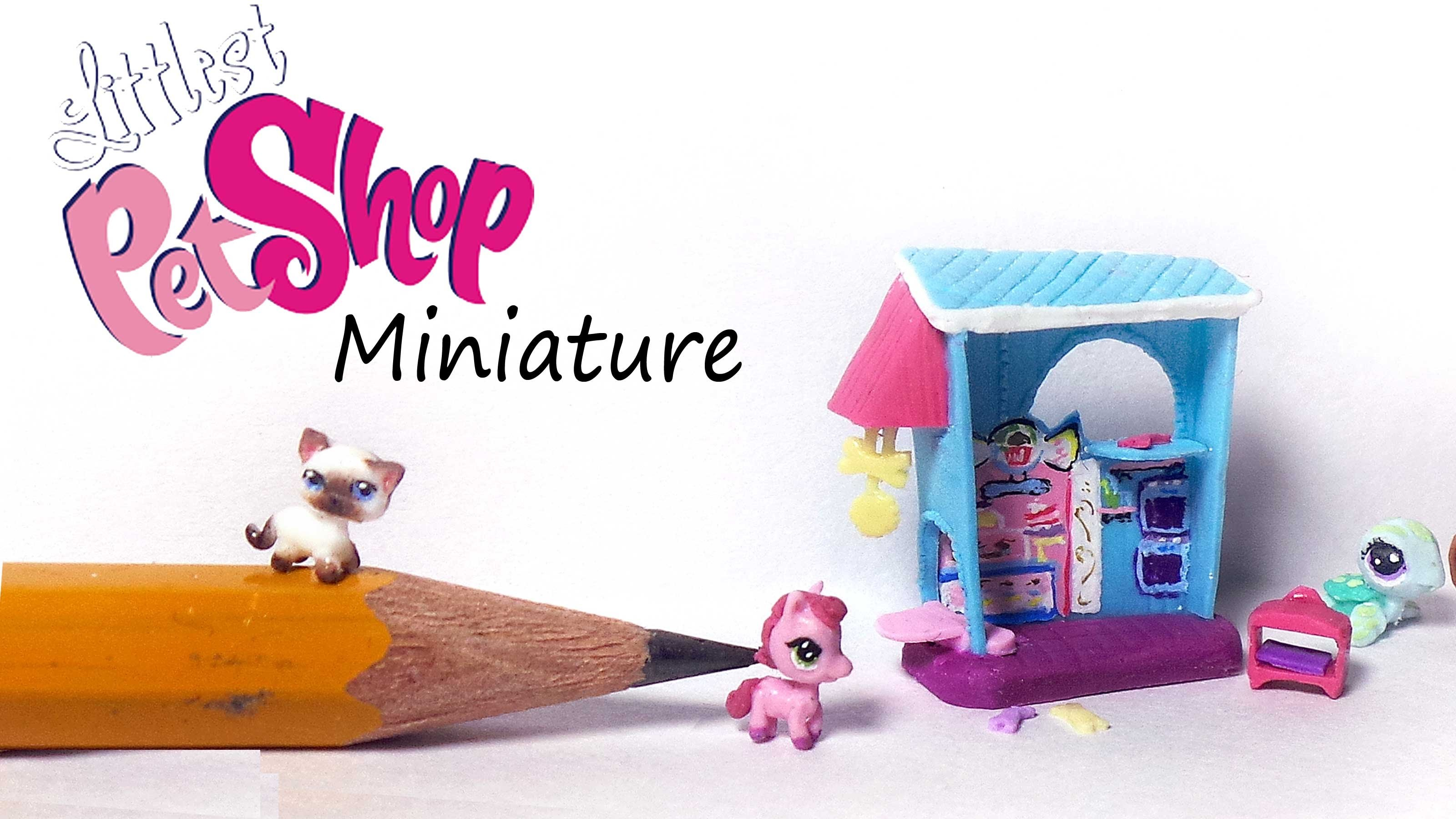 Miniature Littlest Pet Shop Inspired Polymer Clay Tutorial - Pet&Bakery Playset