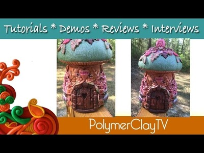 Polymer Clay Fairy Jar Part 2