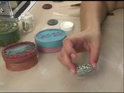 Polymer Clay TV Episode #83 Creating With Embossing Powders