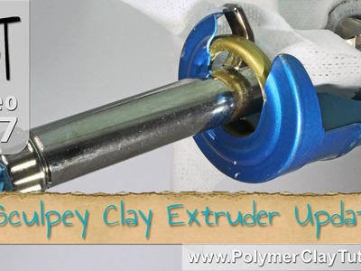 Sculpey Clay Extruder - Tips for Easier Extruding