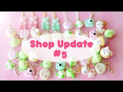 Shop Update #5 │ Polymer Clay Charms