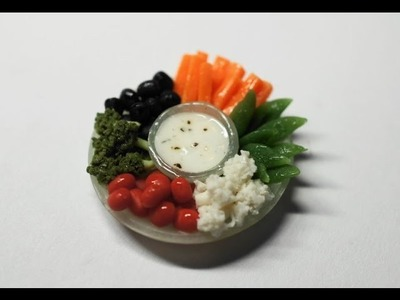 Vegetable Platter Tutorial for Polymer Clay