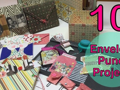 10 Envelope Punchboard Ideas♥Part 1- 10 List Tuesday | I'm A Cool Mom