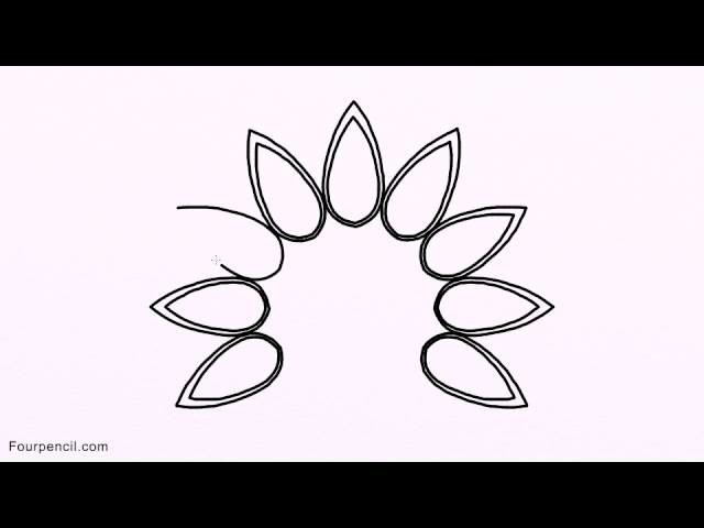 3048 How To Draw Peacock Easy Drawing For Kids Step By Step