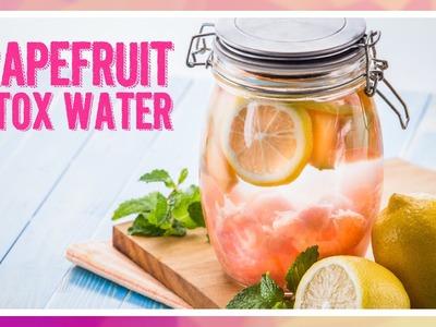 DIY: How to Make Grapefruit Detox Water