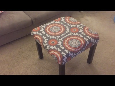 How to Make a Custom Ottoman for Under $15