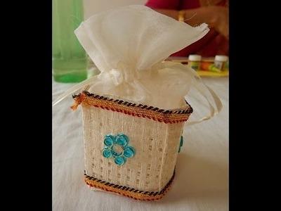 How to make Thamboolam Bag