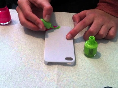 How To Paint A IPhone Case With Nail Polish