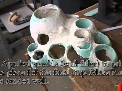 How to Sculpt Foamcore (Foam Board)