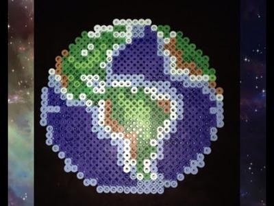 HUGE Perler Bead Earth Tutorial!