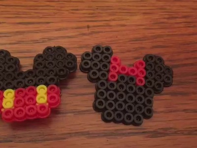 Mickey and Minnie Perler Bead Tutorial