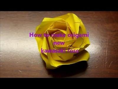 Origami New Kawasaki Rose PART 1