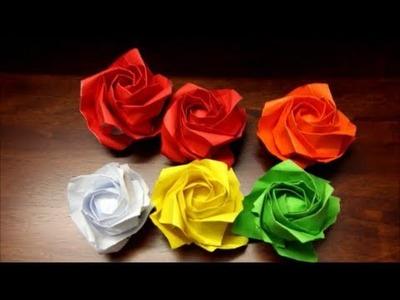 Origami New Kawasaki Rose PART 2