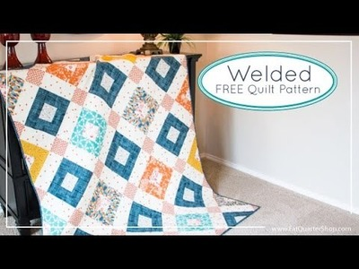 Welded Free Quilt Pattern for Art Gallery Fabrics and Fat Quarter Shop - AGF Stitched