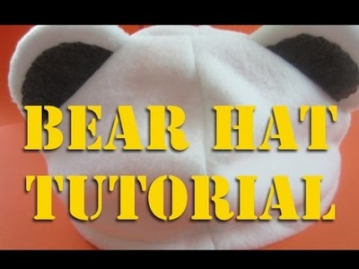 Bear Hat Tutorial For My Bepo Cosplay